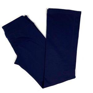 Athleta Kickbooty Long Flare Yoga Pants